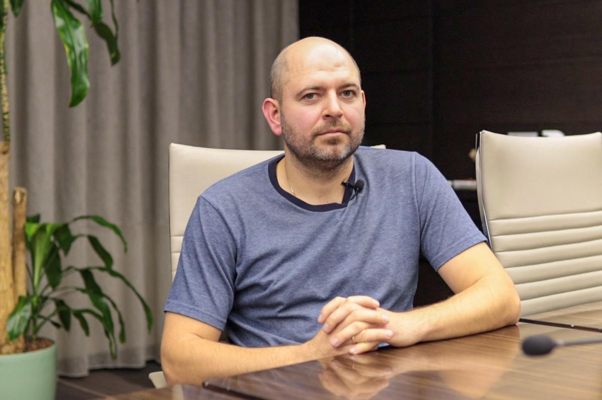 Тарас Пилипака, менеджер із продажу Trimble в Україні та Молдові
